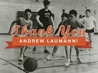Thank you Andrew Laumann!