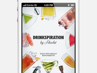Drinkspiration 2.0 - Launch Image