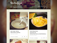 Berlinfood – Website