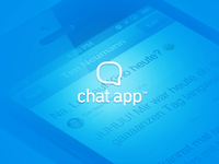 Chat App – iOS App – Chat screen