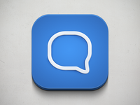 Chat App – iOS Icon