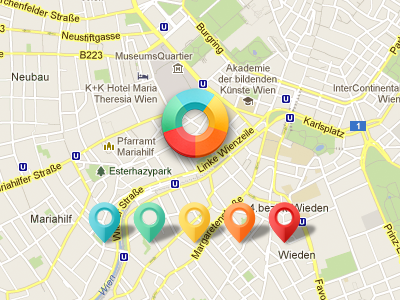 Map-location-pins