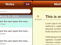 Note taking iPad app for students