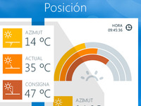 Solar energy - Windows 8 App