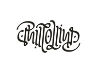 Phil Collins - ambigram - v2