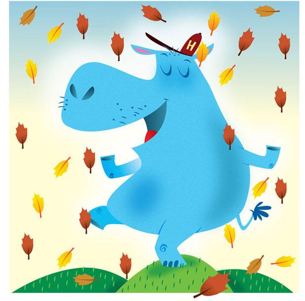 Hippo, fall