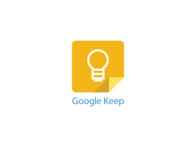 Google Keep - Free PSD