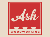 Ash Woodworking Logo