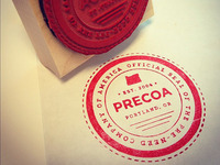 Official Precoa Stamp