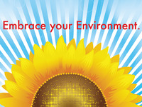 """Embrace your Environment"" Vector Graphic"