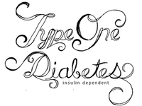 Type One Diabetes Tattoo - Sketch