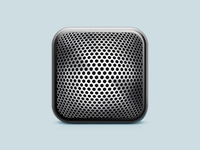 Dictaphone app icon