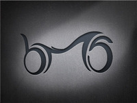 "logo for motorcycle seats ""bms"""