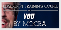 Javascript training course banner