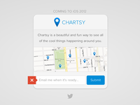 Chartsy: Coming Soon Form