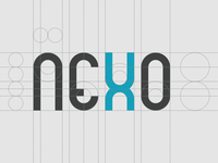 Nexo logo construction