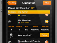 iPhone Marathon App