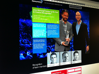 Concurrency - Awards Landing Page