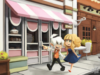 A walk to the bakery