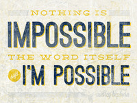 Chronic Positivity: Nothing is Impossible