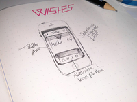 Scribble for Wishes App