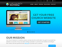 Live Church Solutions mockup