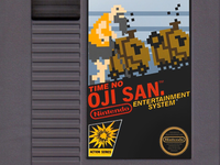 OJI SAN Illustration - NES Game