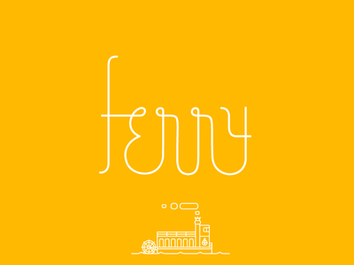 Ferry Custom Typeface
