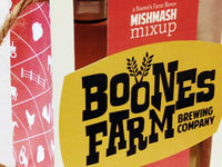 Rebranding of Boones Farm