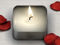 Tea Light iPhone Icon