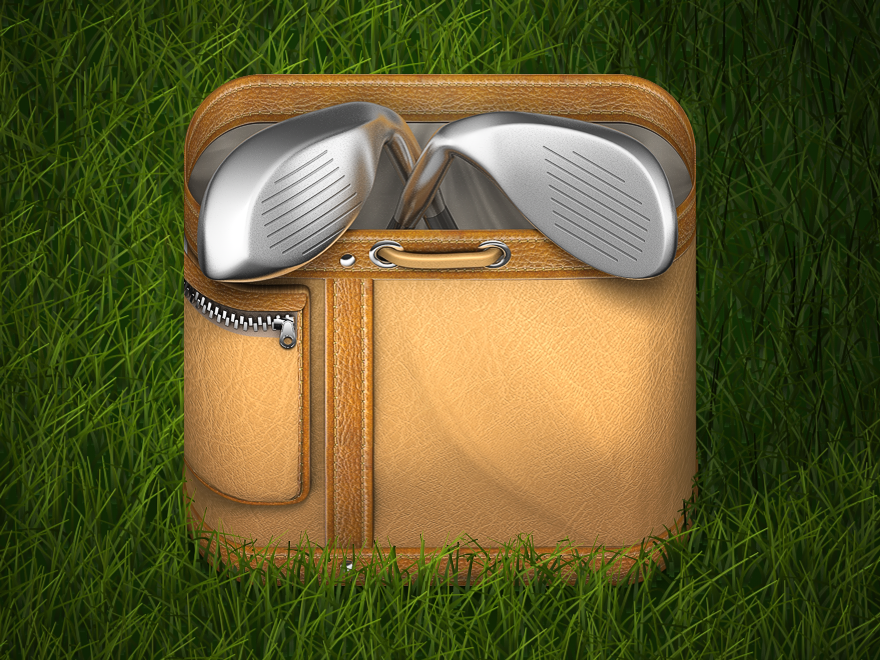 Golfbag_grass_dribbble