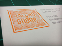 Taecho Group Stamp