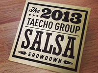 Salsa Showdown winner badge