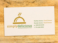 Simply Delicious Business Card