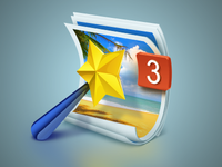 Photo Naming Assistant Icon