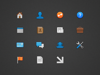 15 small icons for Conenza