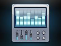 Android Application Icon for GrooveMixer