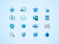 Icons for Axmor website
