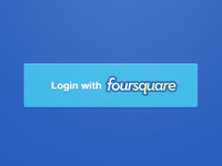 Login Foursquare Button