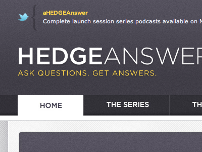 Hedgeanswers