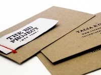 The BD Project Business Cards