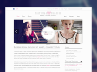 Lingerie Site Design