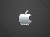 Black Leather - Retina Wallpapers