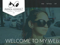 My new site
