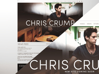 Chris Crump Website Concept