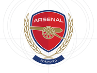 Arsenal FC Crest Refresh