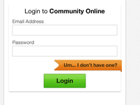 Community Online Login