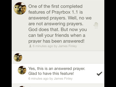 Prayrbox: Answered Prayer