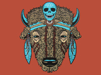 Buffalo (Spirit Animal) print