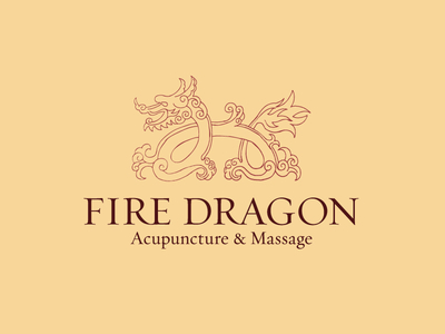 Fire Dragon Logo